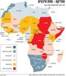 מפת סיכוני השקעות באפריקה 2010